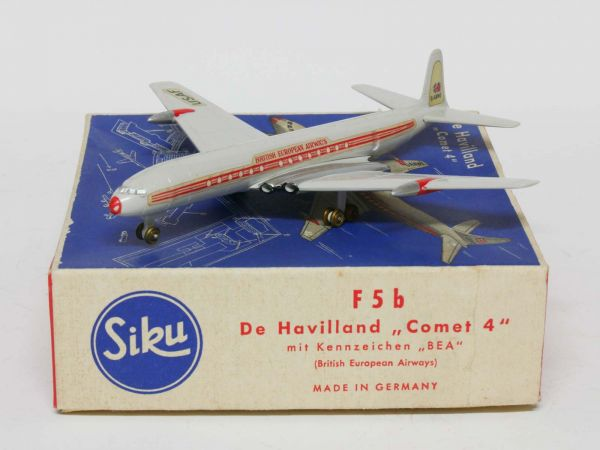 Siku F5b Flugzeug De Havilland Comet 4 (British European Airways) 1:250 OVP