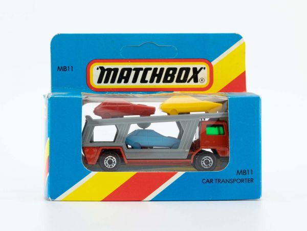 Matchbox 11 Car Transporter Autotransporter OVP