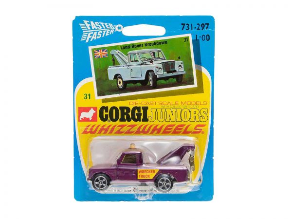 Corgi Juniors Whizzwheels 31 Land-Rover Breakdown OVP