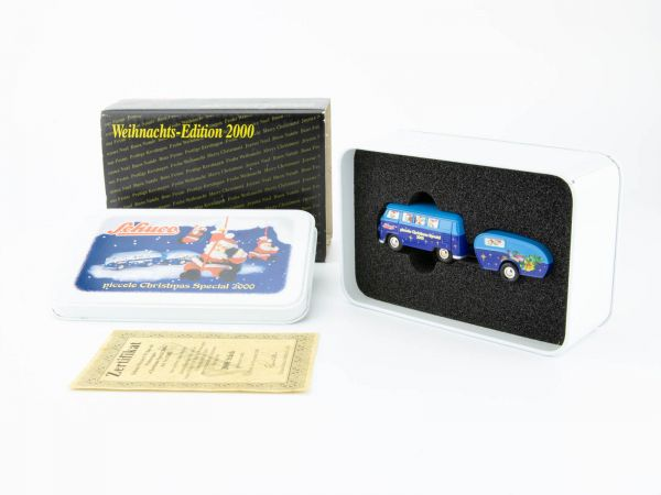 Schuco Piccolo Weihnachts-Edition 2000 (VW Bus) OVP