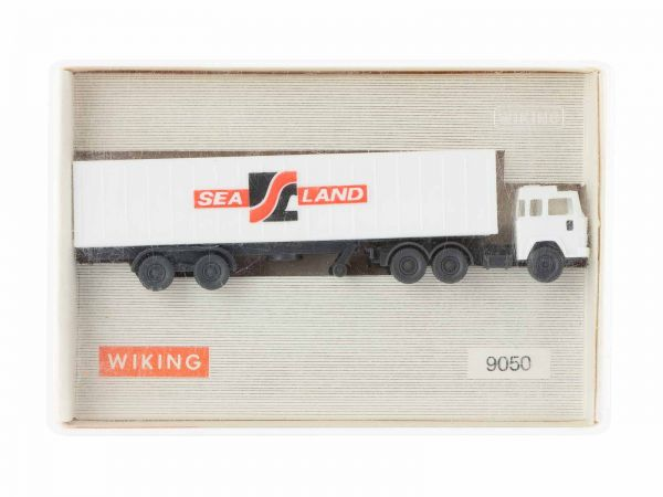 Wiking 9050 Container Sattelzug (SEA Land) 1:160 (Spur N) OVP