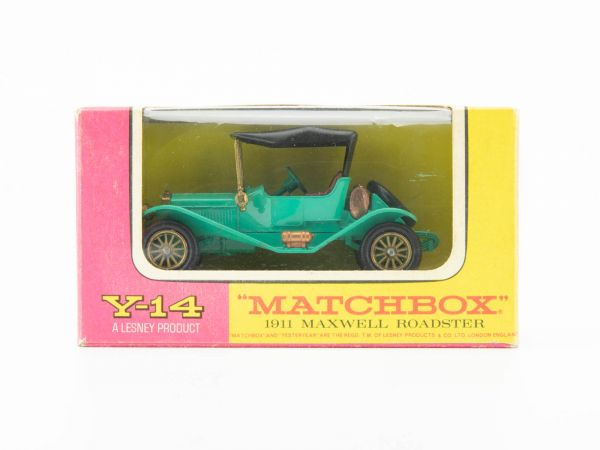 Matchbox Models of Yesteryear Y-14 1911 Maxwell Roadster OVP