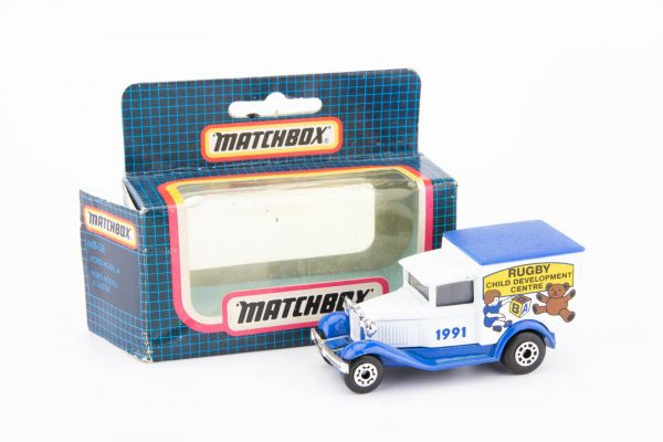 Matchbox Ford Model A (Rugby Child Development Centre 1991) OVP