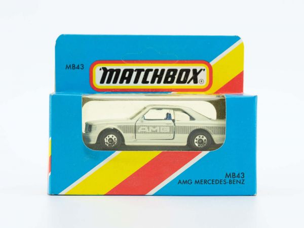 Matchbox 43 AMG Mercedes Benz OVP