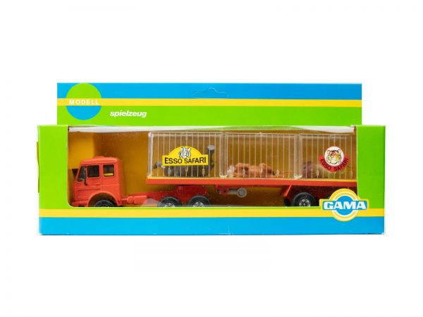 Gama Mercedes Tier Transporter (Esso Safari) OVP