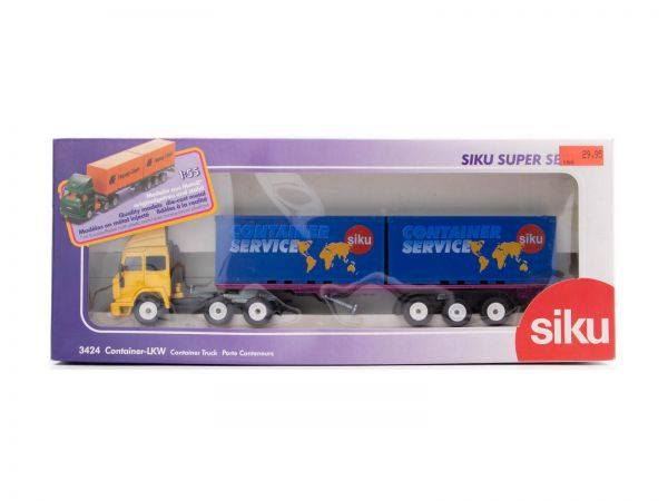 Siku 3424 Iveco Container-LKW (CONTAINER SERVICE) 1:55 OVP