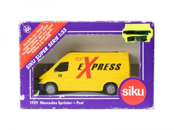 Siku 1929 Post Mercedes Sprinter (Post Express) 1:55 OVP