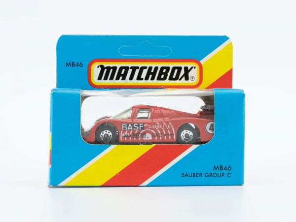 Matchbox 46 Sauber Group C (BASF) OVP