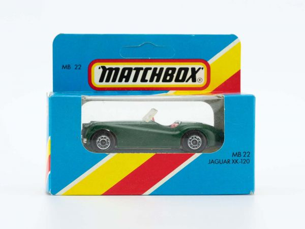 Matchbox 22 Jaguar XK 120 OVP
