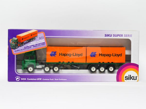 Siku 3424 Iveco Container-LKW (Hapag Lloyd) OVP