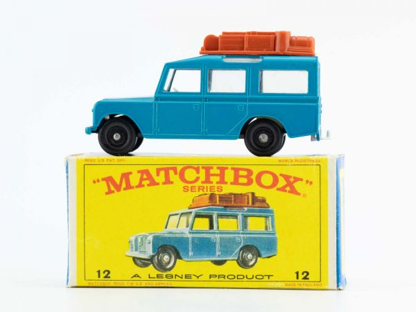 Matchbox Lesney 12 Safari Land Rover OVP