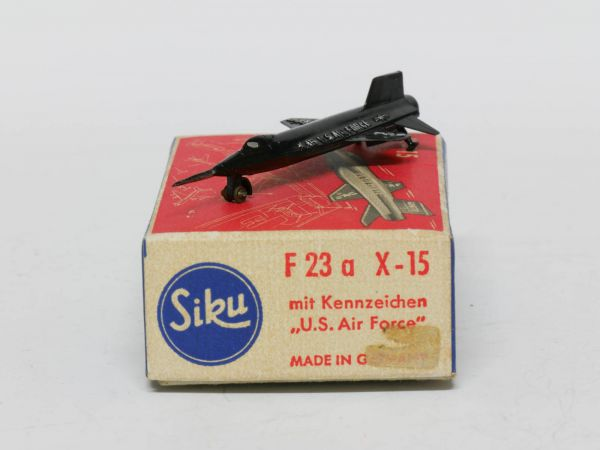 Siku F23a Flugzeug Bell X-15 (Air force) 1:250 OVP
