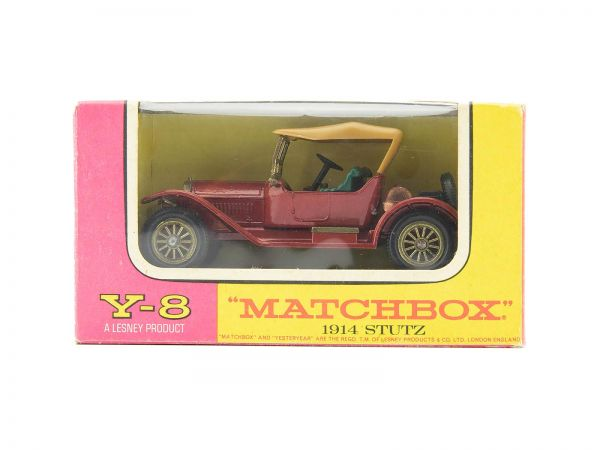 Matchbox Models of Yesteryear Y-2 1914 Prince Henry Vauxhall OVP