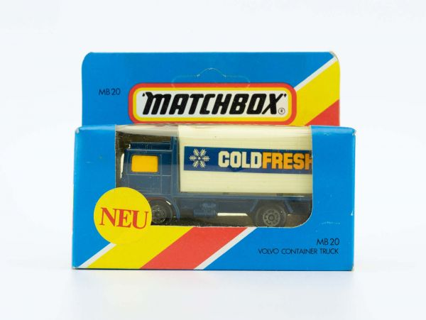Matchbox 20 Volvo Container Truck OVP