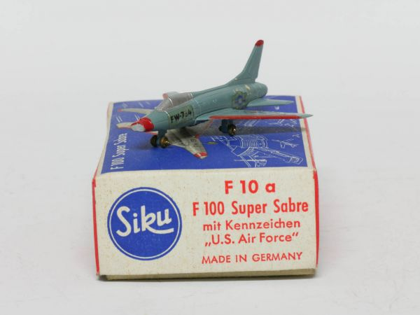 Siku F10a Flugzeug F100 Super Sabre (U.S. Air Force) 1:250 OVP