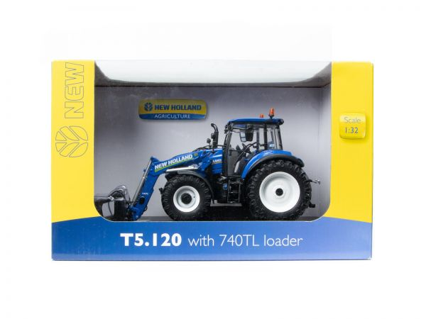 Universal Hobbies 4956 New Holland T5.120 Traktor 1:32 OVP