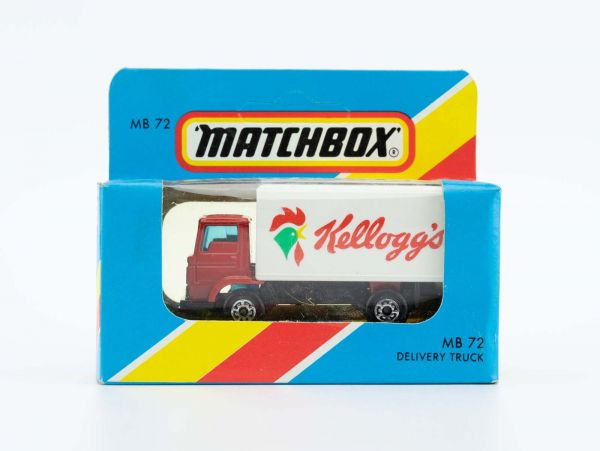 Matchbox 72 Delivery Truck (Kelloggs) OVP