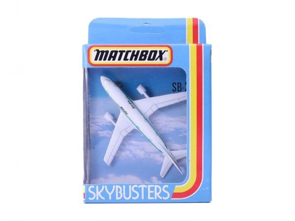 Matchbox Skybusters SB-28 A300 Airbus Flugzeug OVP