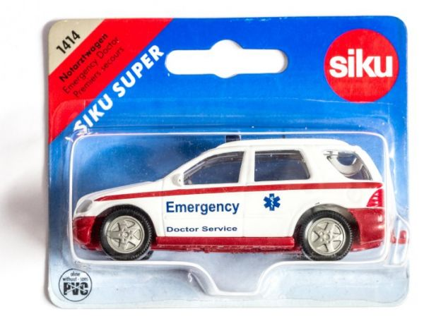 Siku 1414 Emergency Mercedes ML 320 (Auslandsmodell) OVP