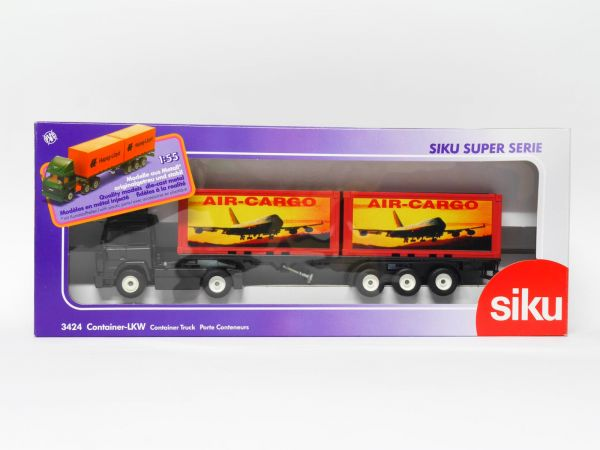 Siku 3424 Iveco Container-LKW (AIR-CARGO) OVP